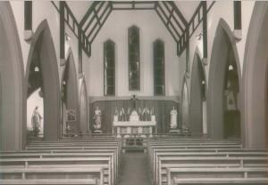 St Stephen's interior - 1956