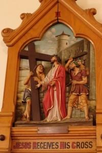 II - Jesus receives his cross