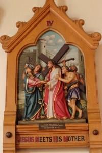 IV - Jesus meets his mother