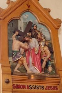 V - Simon assists Jesus