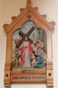 VIII - Jesus consoles the women