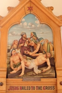 XI - Jesus is nailed to the cross