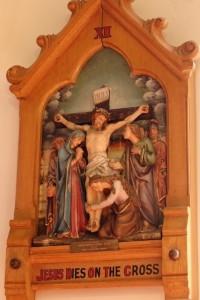 XII - Jesus dies on the cross